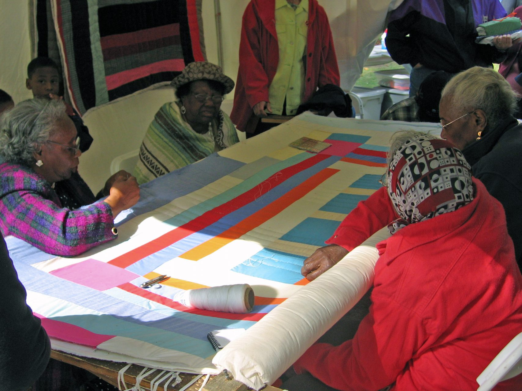 Bangalore 2014 – knitting vision quilts